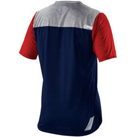 100% Airmatic Enduro/Trail Fietsshirt korte mouwen Heren blauw